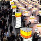 Un des dix enjeux de l'élection allemande : Salon de la technologie Cebit à Hanovre (Allemagne).