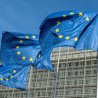 -PHOTODELDIA- EA7234.  BRUXELLES (BELGIQUE), 13/09/2020 - Trois drapeaux de l